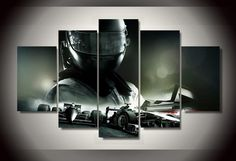 Cheap picture canvas, Buy Quality 5 pieces picture directly from China canvas free Suppliers: HD Printed Racing car 5 piece picture Painting wall art room decor print poster picture canvas Free Home Pictures, Wall Art Pictures, Canvas Pictures, Cheap Paintings, Canvas Paintings, Canvas 5, Poster Pictures, Wall Art Decor, Room Decor