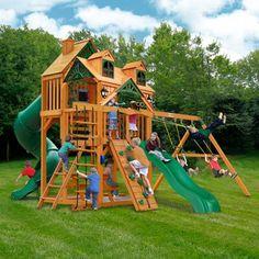 Big Backyard Lexington Wood Gym Set | Playset outdoor ...