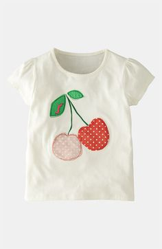 Mini Boden 'Patchwork' Appliqué Tee (Toddler, Little Girls & Big Girls) available at #Nordstrom