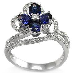 flower diamond jewelry - Google Search