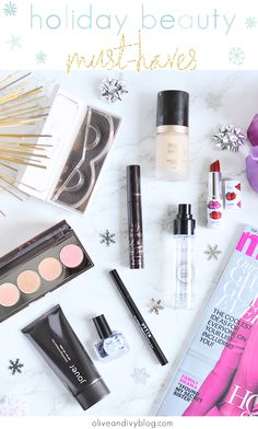 Holiday beauty must-