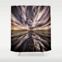 Fantasy Sunset 5 Shower Curtain