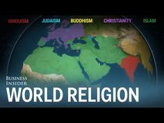 A short animation that shows how Hinduism, Buddhism, Christianity, Judaism, and Islam have spread across the world Ap Human Geography, Teaching Geography, World Geography, Teaching History, History Teachers, Religions Du Monde, World Religions, History Lesson Plans, World History Lessons