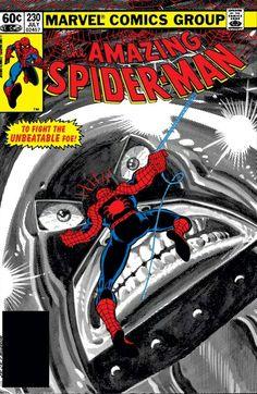 The Amazing Spider Man #230 By John Romita Jr.