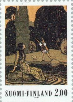 Folklore - Stamp Community Forum - Page 7 Postage Stamp Art, Folklore, Finland, Norway, Lamb, Sorting, Gallery, Sweden, Illustration