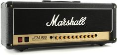 Bring legendary Marshall tone to your rig with the JCM900 4100 guitar amplifier head. With dual channels, a shared 4-band EQ, and 100 watts of all-tube power, you've got an amp that is ready for any type of gig on any stage. http://www.marshallamps.com/product.asp?productCode=4100