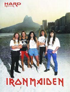 Iron Maiden 1993 [poster] by OlegLevashov