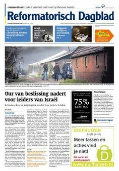 Nieuwe RD tabloid per 15 april 2013 (afbeelding is dummy)