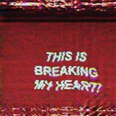 Quotes love hurts broken hearted god 56 ideas for 2019 Red Aesthetic, Aesthetic Pictures, Looks Cool, Yandere, Retro, Wall Collage, Aesthetic Wallpapers, It Hurts, Neon Signs