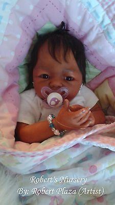 Gorgeous Reborn BabyGirl,iracial, Ethnic,A, Musheerah custom Orders