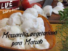 Mozzarella vegetariana para Matzah - YouTube