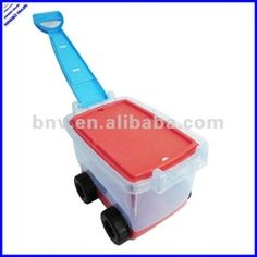 Toy Storage container with wheels