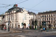"Bratislava - Ľudovít Štúr square. Sculpture of ""štúrovci"". https://www.google.com/maps/d/edit?mid=1peiLhfLGVISgg9Ia7zYOqWecX9k&ll=48.140408895728925%2C17.108171978310565&z=18"