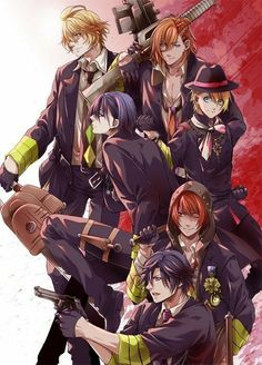 Image about uta no prince-sama in Anime/Manga by ◄ エレナ Hot Anime Boy, Anime Love, Anime Guys, Manga Art, Manga Anime, Anime Art, Jinguji Ren, Uta No Prince Sama, Nanami
