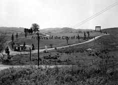 The drive-in theater was known as the Bays Mountain Drive-In Theater and later the Highway 81 Drive-In Theater.