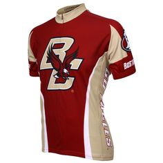 Adrenaline Promotions Boston College Golden Eagles Cycling Jersey (Boston  College Golden Eagles - L) 487418a40