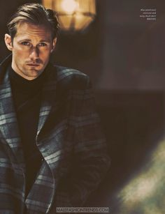 Alexander Skarsgård por Guy Aroch para Man of the World