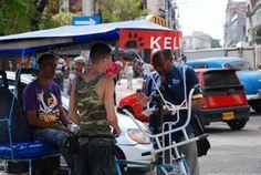 En los meses de febrero y marzo se llevó a cabo una  ofensiva contra las ilegalidades de quienes conducen  bicitaxis (Crédito: RANDY RODRÍGUEZ PAGÉS)