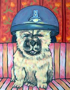 maltese bathroom pet groomer 11x14  artist prints animals impressionism