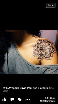 Shoulder lotus