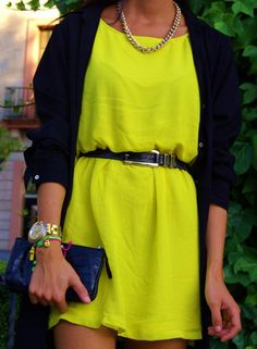 Lime & Black!