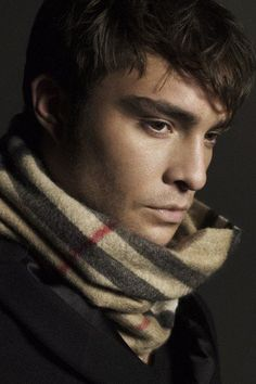 oh the burberry scarf