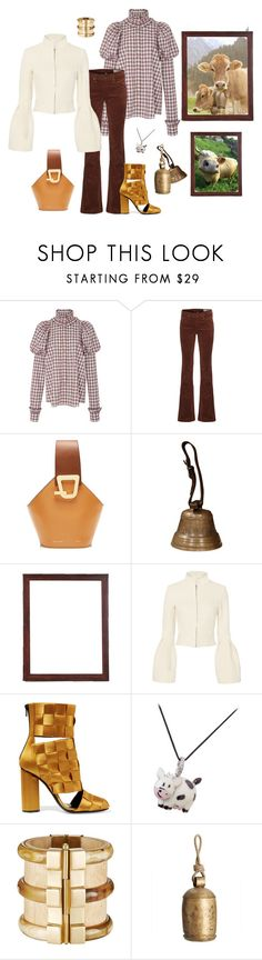 """""""Bell"""" by juliabachmann ❤ liked on Polyvore featuring macgraw, rag & bone, Jonathan Simkhai, Marco de Vincenzo, Aaron Basha and Pottery Barn"""