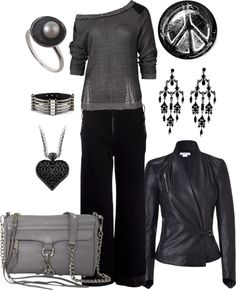 """Downtown"" by jaime-bergren-hanish ❤ liked on Polyvore"