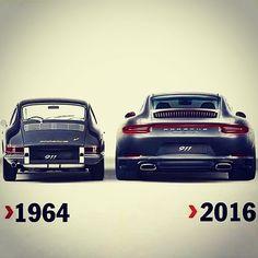 Porsche through times