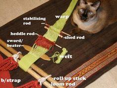 Backstrap weaving blog