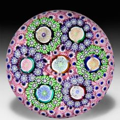 Buy online, view images and see past prices for John Deacons 2015 large roses in florets on pink carpet ground glass paperweight.. Invaluable is the world's largest marketplace for art, antiques, and collectibles.