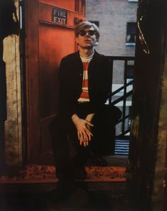 Andy Warhol, NYC, 1966. © Marie Cosindas, courtesy of Bruce Silverstein Gallery, NY