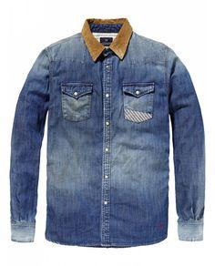 Western Shirt - Woodcut > Mens Clothing > Shirts at Scotch & Soda - Official Scotch & Soda Online Fashion & Apparel Shops
