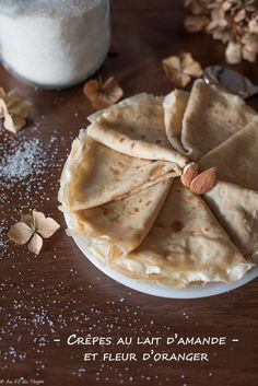Desserts Français, French Desserts, French Crepes, Crepe Recipes, Lactose Free, Cooking Time, Sweet Recipes, Vegetarian Recipes, Brunch