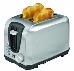 Kalorik Stainless Steel Toaster 2Slice *** See this great product. (This is an affiliate link) #OvensToasters