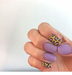 Mauve nails and animal print - ChicLadies. Mauve Nails, Leopard Nails, Gelish Nails, Pastel Nails, Minimalist Nails, Nail Swag, Fabulous Nails, Perfect Nails, Hair And Nails