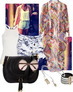 """Hanging on to Summer"" by cookiek on Polyvore"