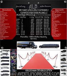Cybermonday limo-partybus-Trans specials all bookings 20%off if quoted today go to http://averylimobroker.com use the quick quote !