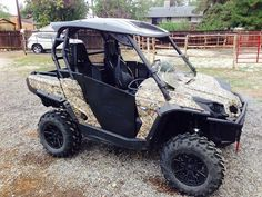 Canam Commander 1000 Ltd Roof Rack And Led Bar Side By