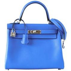 f5bac7616392 Ultra rare Hermes Kelly 28 Blue Hydra is quite simply extraordinary.