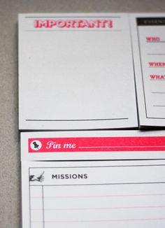 manager to-do list liste bureau desk organiseur papier tigre