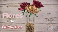 ¡Modela el foami con calor para crear estas increíbles flores!