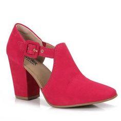 Sapato Salto Feminino Usaflex - Pink