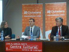 Presentación de la campaña #nacionalismoescrisis de @Ciutadans_cs en Cornellá.