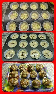 Zobrazit detail - Recept - Skořicovo jablečné mafiny Greek Desserts, Cupcakes, Baking, Breakfast, Recipes, Food, Morning Coffee, Cupcake Cakes, Bakken