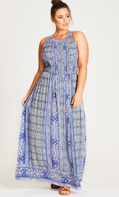 Style By Trend: The Edit Part 2 City Chic - MAXI SOFT ROMANTIC