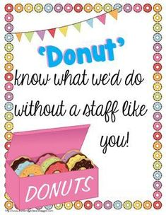 Food for the Teachers' Souls {Morale Boosters and Treats f Teacher Morale, Employee Morale, Employee Gifts, Staff Morale, Student Teacher, Volunteer Appreciation Gifts, Teacher Appreciation Week, Volunteer Gifts, Teacher Treats