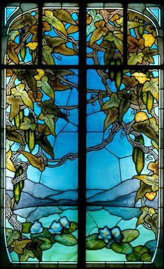 Stained Glass Window - Jacques Gruber, Ecole de Nancy