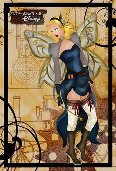Blue Fairy (Steampunk Disney by HelleeTitch)