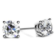 I'm very pleased with these earrings, I was able to get the carat size I wanted and they still look amazing. I purchased them as a birthday present for my wife, so I was weary of making the purchase online, next time I will have no problem making the purchase.